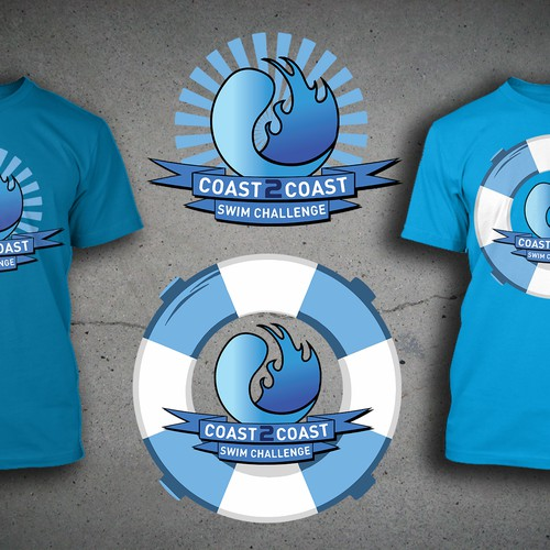 Water Safety Tee Shirt Fundraiser - Provides FREE swim lessons to underserved kids