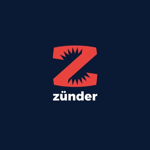 zunder (spark) logo