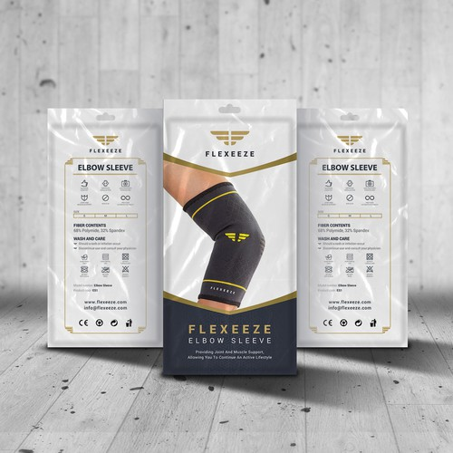 Package Design for Fitness wear