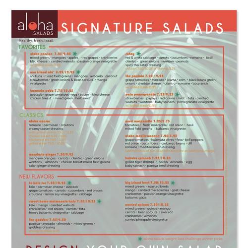 menu concept