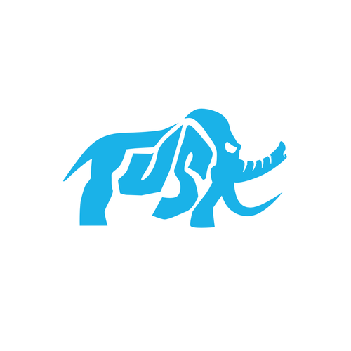bold logo for mammoth