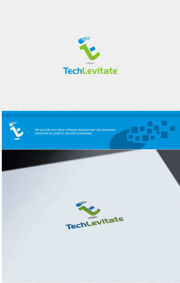 Create a logo for Tech Levitate