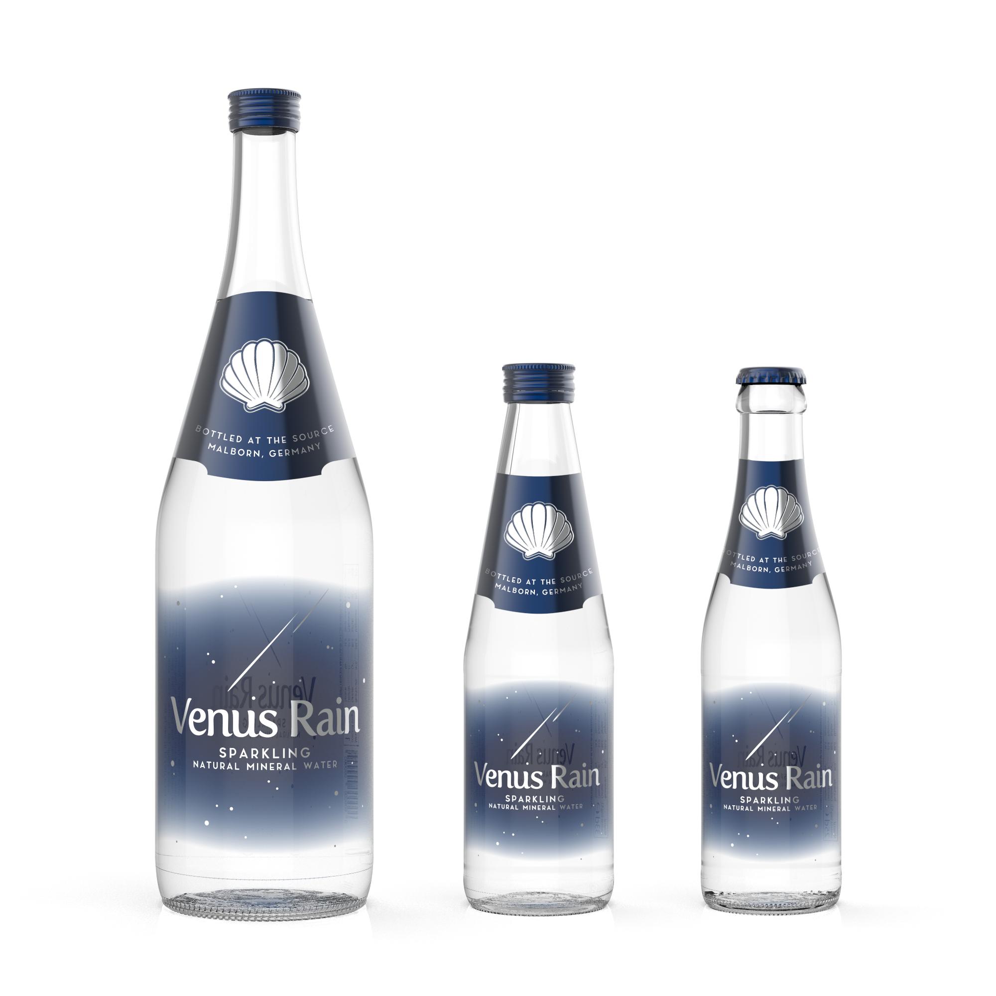 Venus Rain Premium Sparkling Water (Glass Bottles)