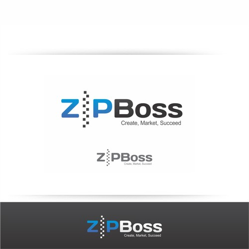 ZipBoss logo redesign for launch of our 2.0 website builder