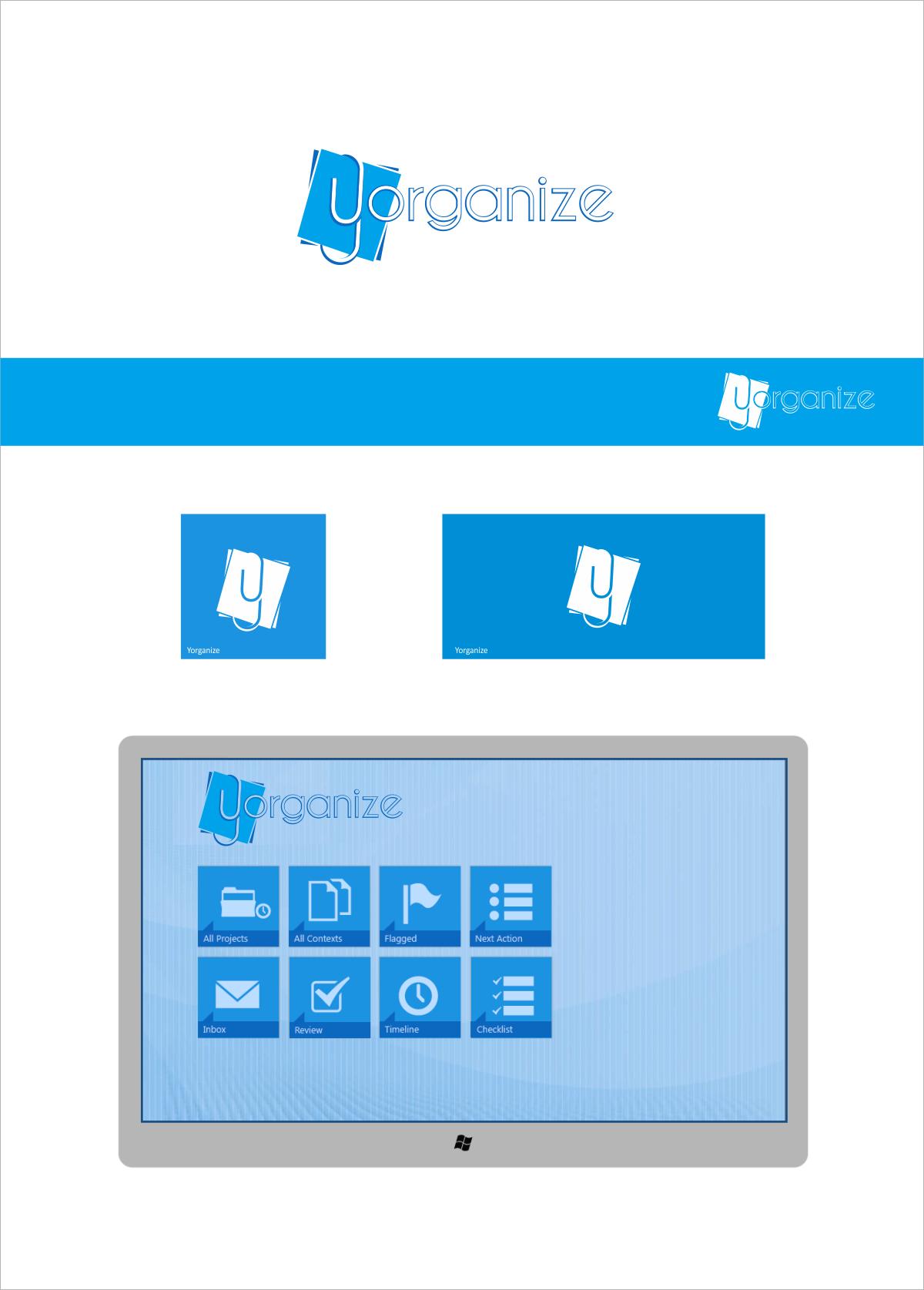 Design a logo for Yorganize (a Windows 8 app)