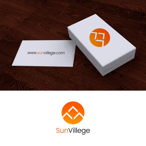 Logo and Business Card Design for SunVillege