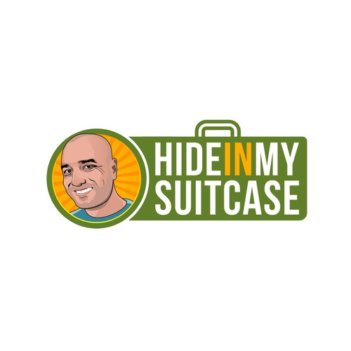 Hide in my suitcase logo