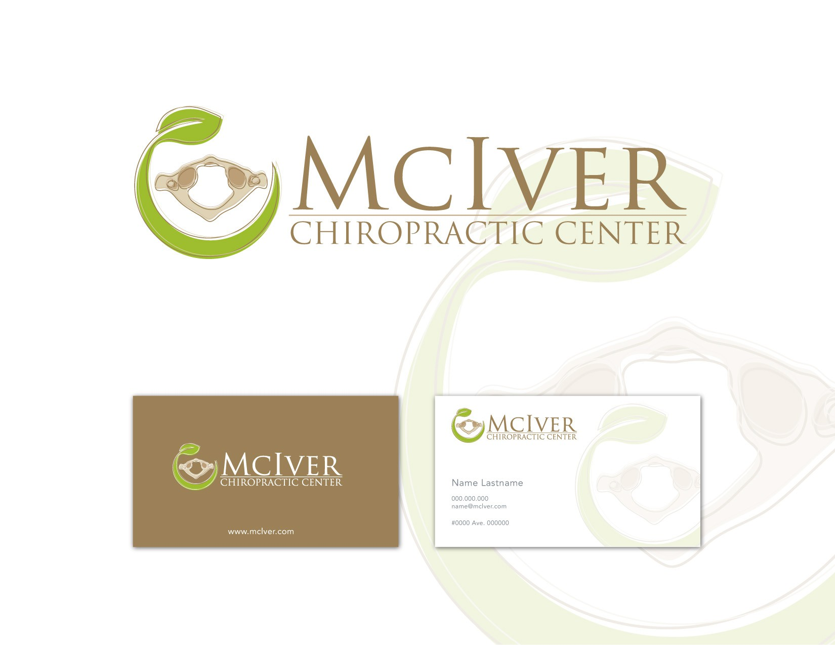 McIver Chiropractic Center needs a new logo