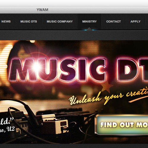 Banner Ad for Music DTS