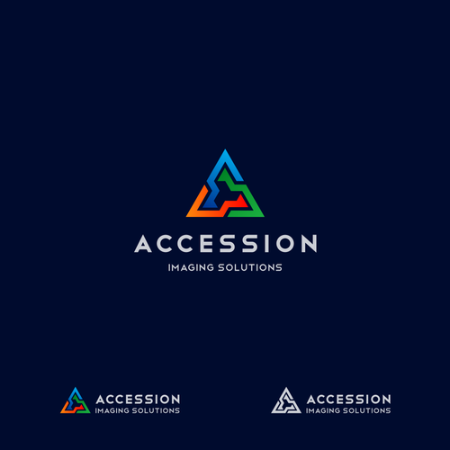 Logo & Brand Identity for Accession Imaging Solutions