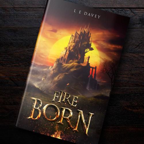 """""""Fire Born"""" Artwork (Fantasy Series)"""
