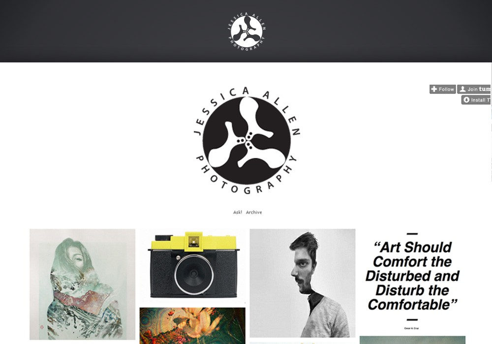 Unique, modern, iconic logo needed for San Francisco based fine art Photographer!