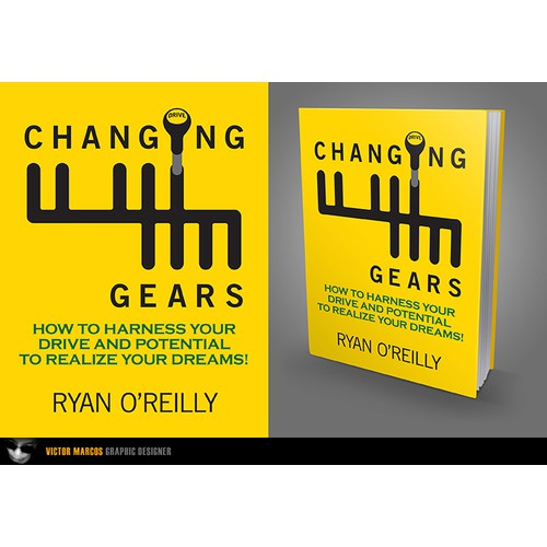 Changing Gears book cover design