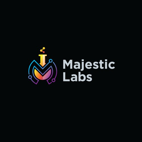 Logo Proposal for Majestic Labs.