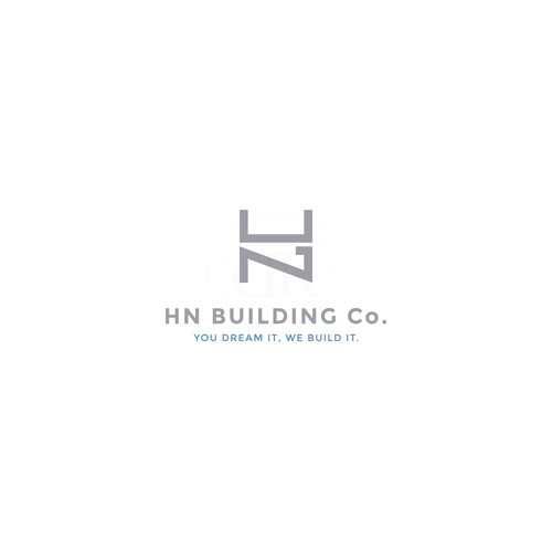Logo concept for a construction company