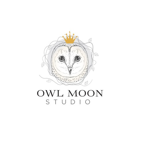 Whimsical Art studio logo