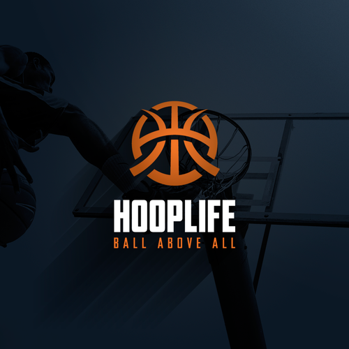 Edgy logo concept for HOOPLIFE