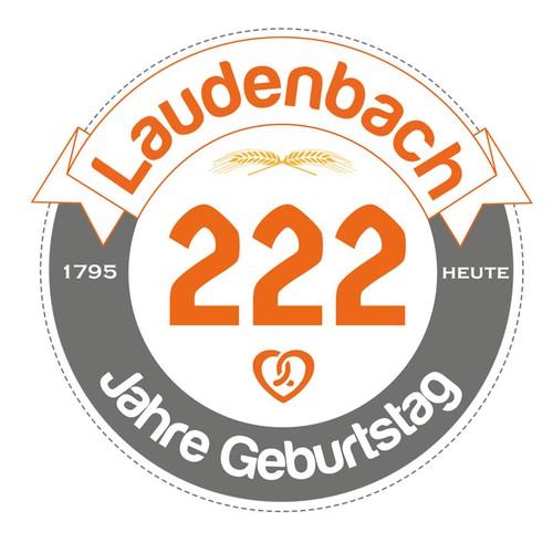 logo design for bakery´s 222nd birthday