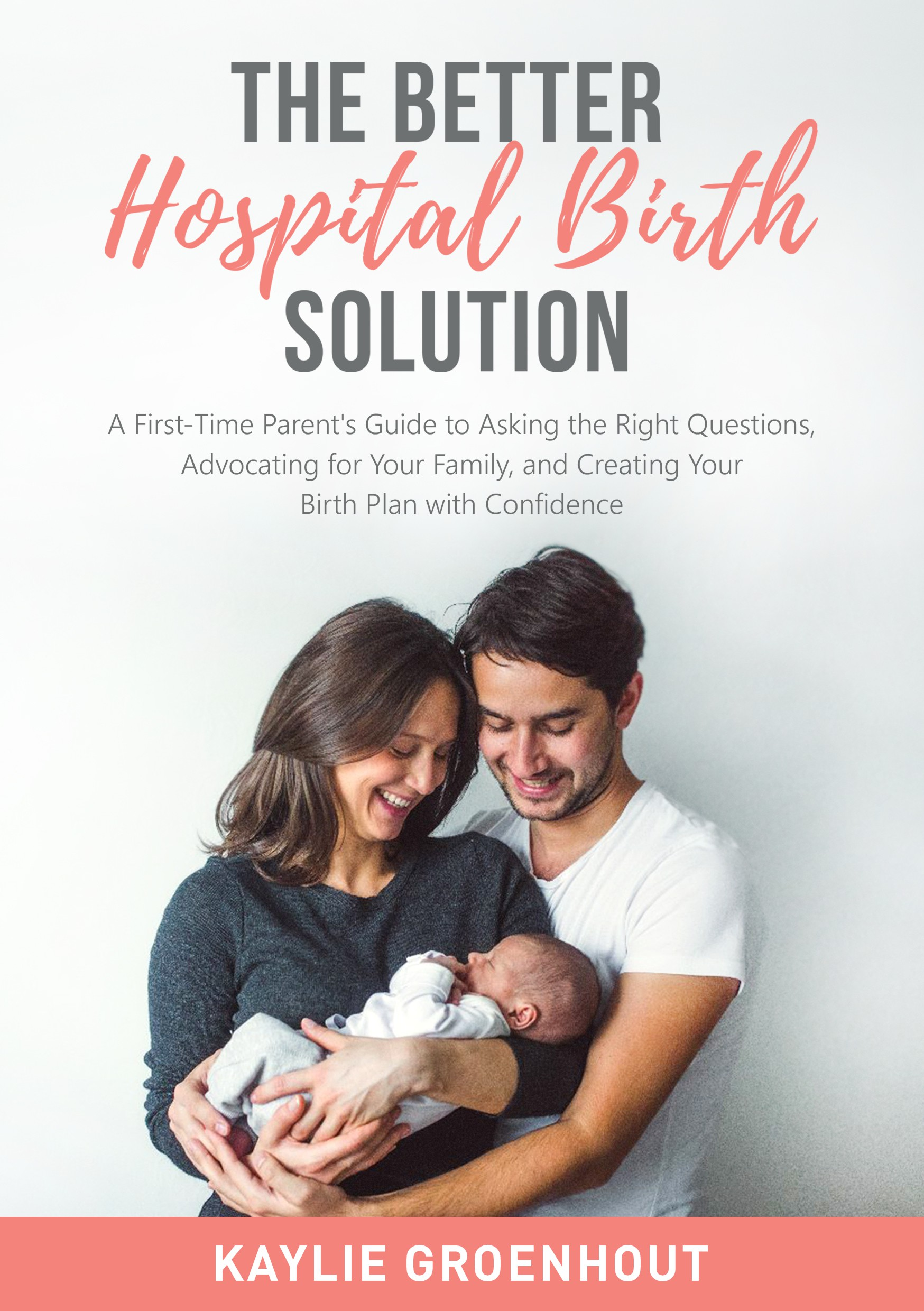 Design eBook Cover for a (Hospital) Birth Planning Book for the Modern Parent