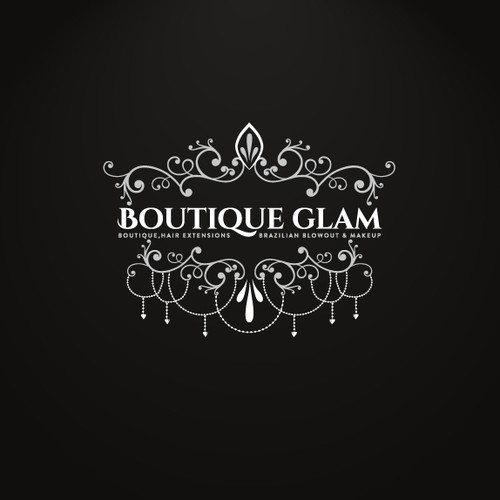 Discover vintage Logo design for BoutiqueGlam