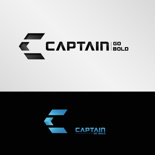 A logo / symbol for Captain. A clothing brand focused on athletic / fitness apparel.
