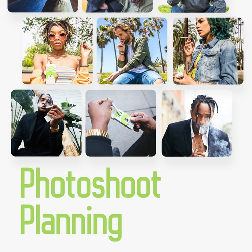 Photoshoot Planning - Moodboards / Production Company Referral