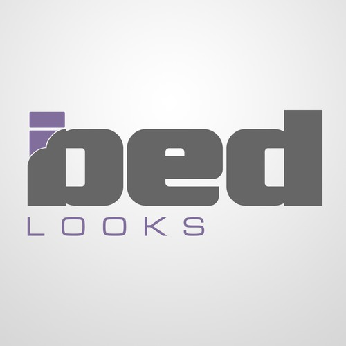 Create a simple, minimalistic logo for bedlooks.com. Hidden or subtle messages/symbolic appreciated