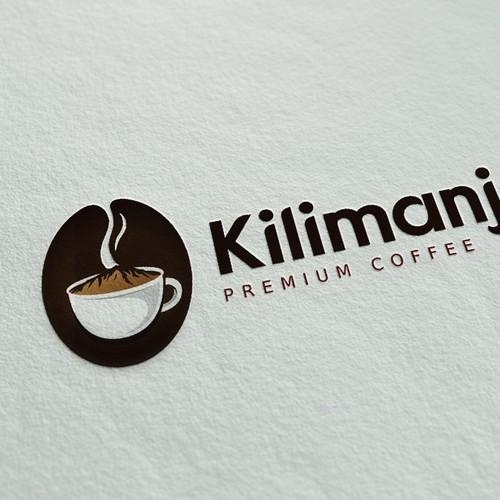 Logo Concept for premium coffee vendor
