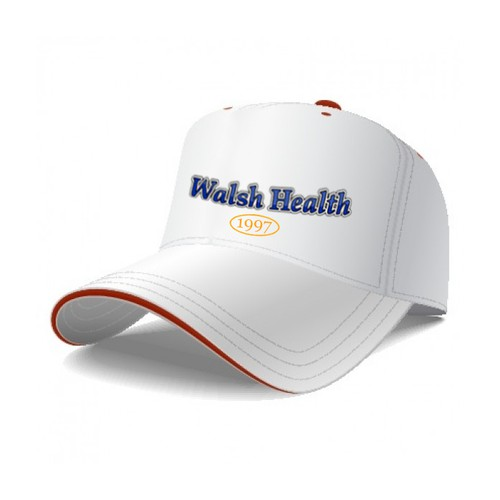 logo for use on Walsh Health baseball cap