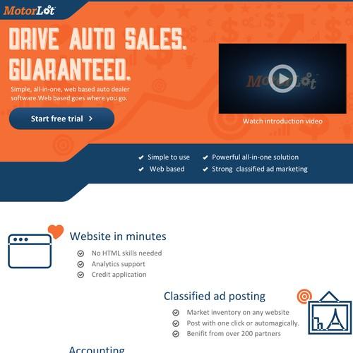 MotorLot- Website