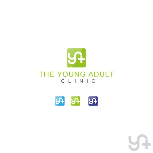 Simple designs concept for young adult clinic.