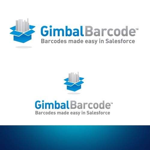 Create a logo for Gimbal Barcode, a new app on the Salesforce AppExchange.