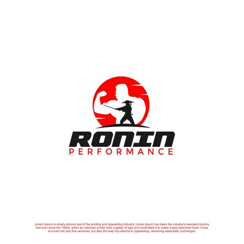 Strong Logo for Gym Performance
