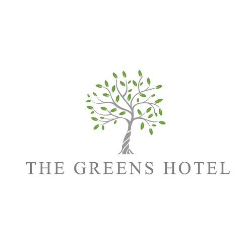 Logo for a hotel