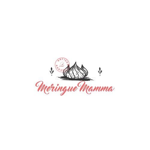 Logo Design for Meringue Mamma