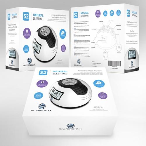 White Noise box design