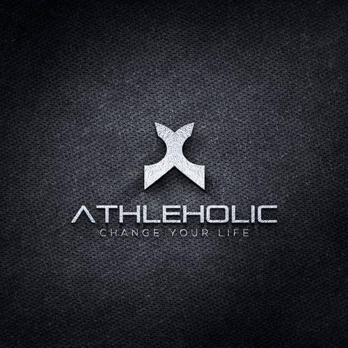 """Logo for """"Athleholic"""""""