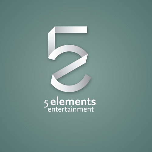 Create a logo for 5 Elements Entertainment that will express style and creativity.