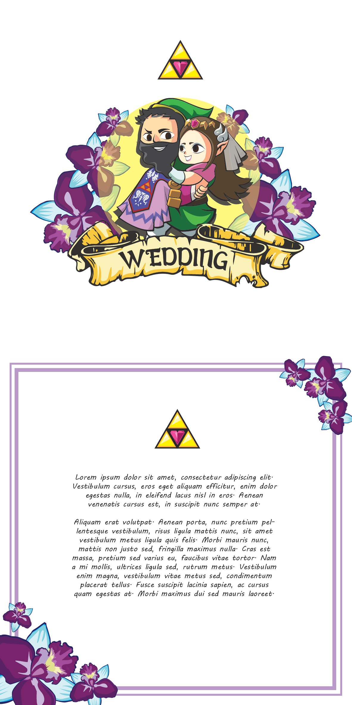 Videogame Inspired Wedding design