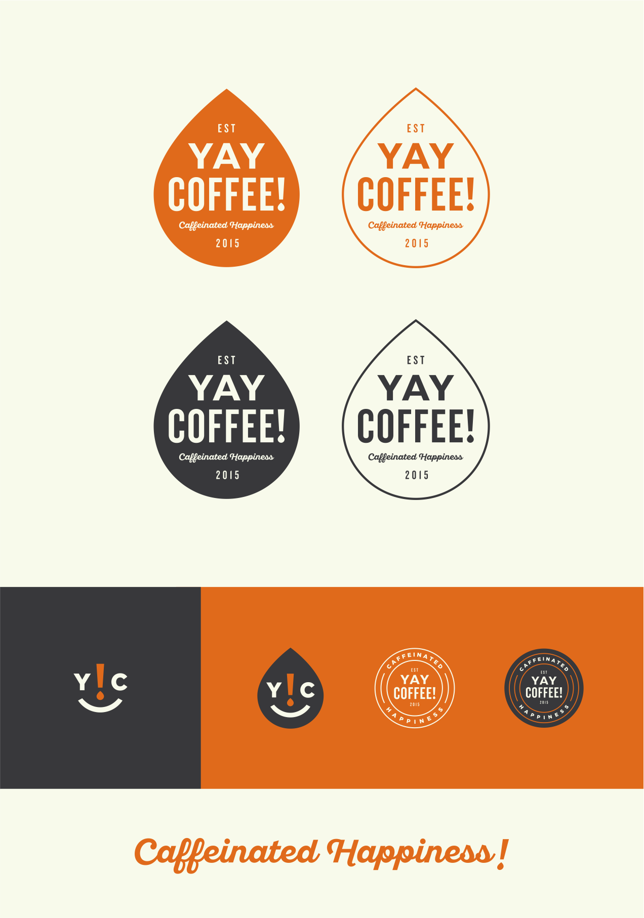 Create a unique logo for brand new artisan coffee shop, Yay Coffee!