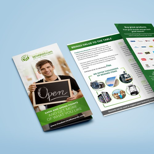 Foodservice Rewards brochure