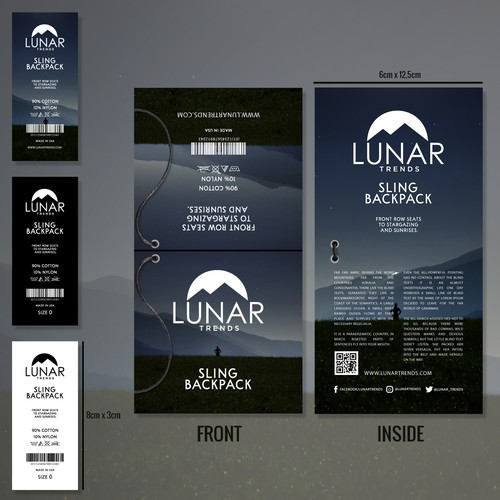 Lunar Trends Product Branding.