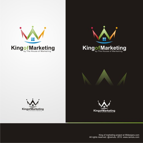 """King of Marketing"" Challenge for youngsters: logo and banners"
