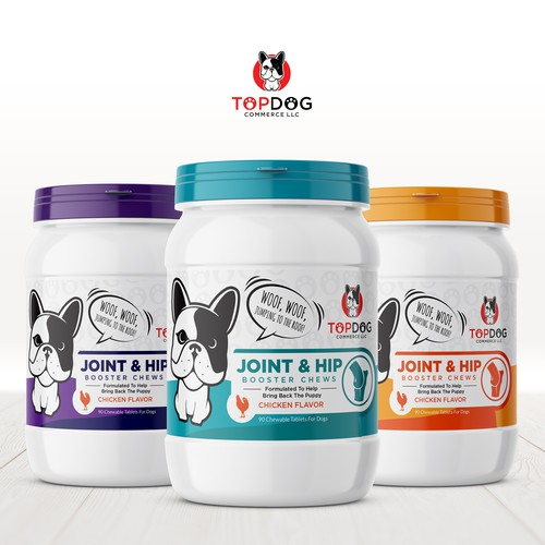 Hip and Joint supplement for dogs.
