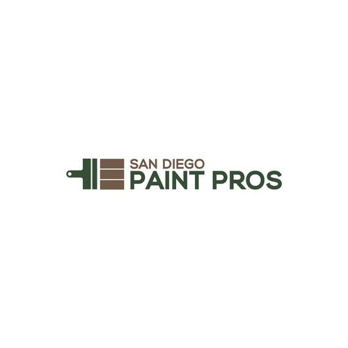 Simple Paint Company Logo