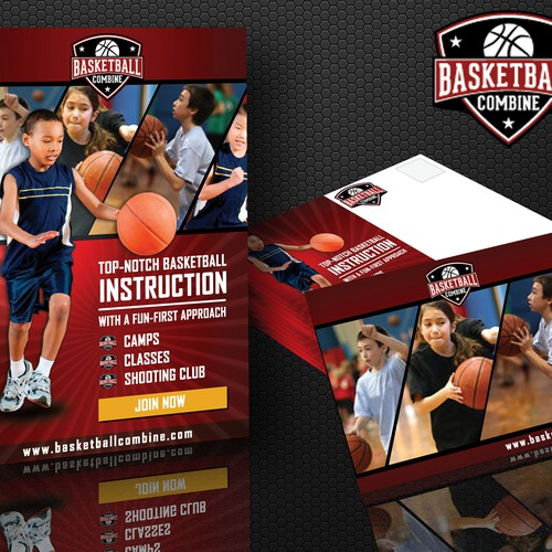 Marketing Collateral Design for Basketball Combine