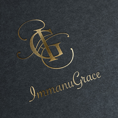 elegant and luxurious logo concept for lady dresses store