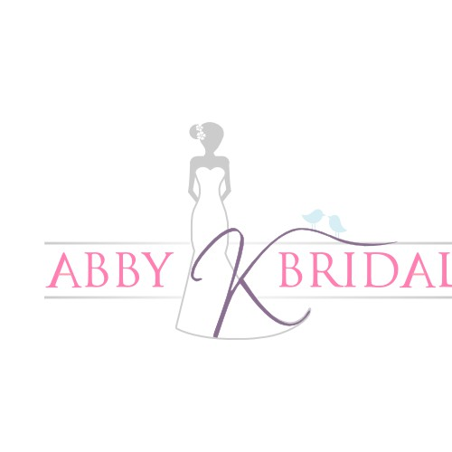logo for Abby K Bridal