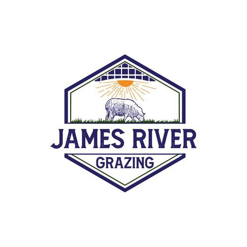 JAMES RIVER GRAZING logo