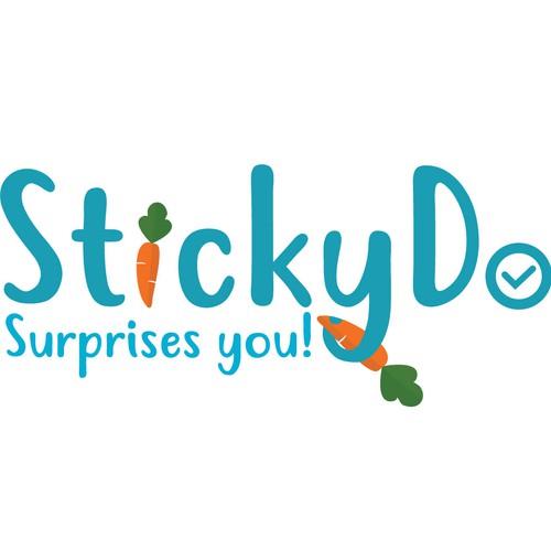Bold logo of sticky do